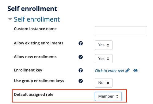 Self Enrollment